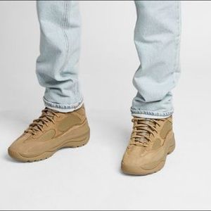 ce70ab33bbc1a Yeezy Shoes - Season 6 Yeezy Thick Suede Desert Boot Taupe